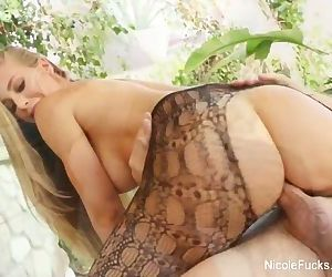 Nicole shows off her..