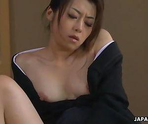 Asian widow getting..