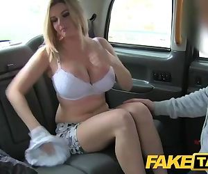 Fake Taxi Busty tv star..