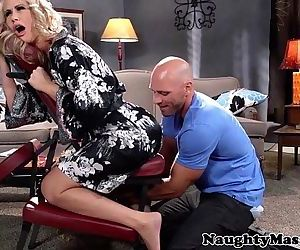 Massaged milf Simone..