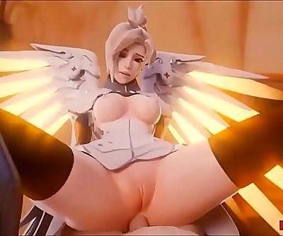 Overwatch Hentai 3D hot..