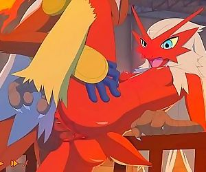 Pokemon: Blaziken and..