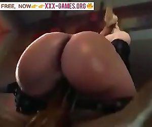 Big ass riding on black..