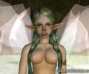3D Futanari Fairy Shows..