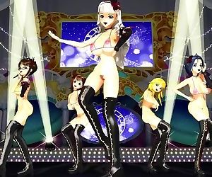 3D MMD Big Titted..