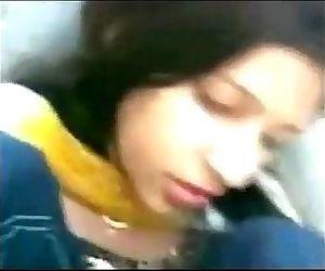 Desi college girl Ruhi..