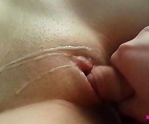 Thick Cumshot on young..