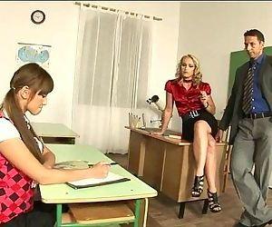 Schoolgirl Intense Sex..