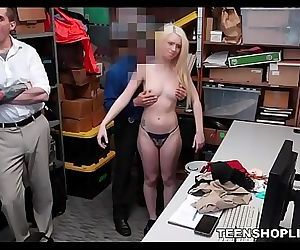 Young Blonde Teen..