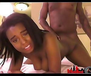 18yr ebony gets first..