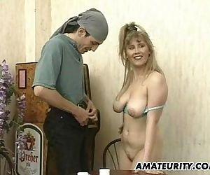 Busty amateur..