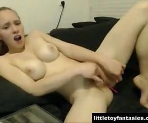Cam Girl Masturbation..