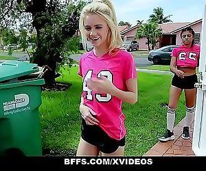 BFFSHorny Soccer Girls..