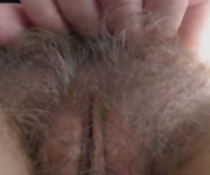 Super Hairy Cam girl..