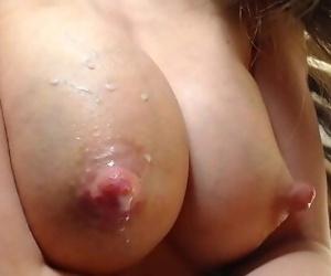 Teen milking big tits..