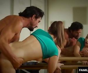 Teen dancer sex with..