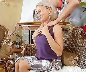 Busty Russian Aunt