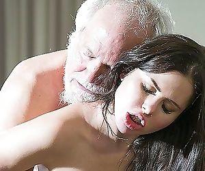 Teen Interrupts Grandpa..