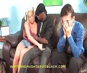 Black Sucking Blonde..