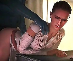 Star WarsRey Animated..