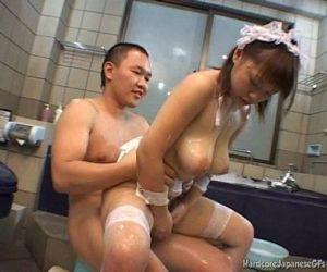 Busty Japanese Cutie..