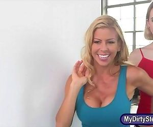 Alexis Fawx and Chloe..