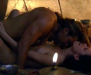 Spartacus sex scenes..