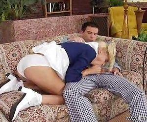 Blonde Teen Experience..