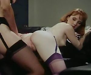 Retro Office Hoes Lesbo..