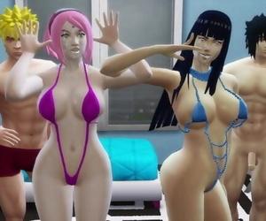 Hinata and Sakura..