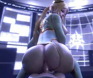 3D Hentai - HUGE ASS..