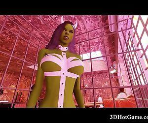 3D Busty Demon Girl..