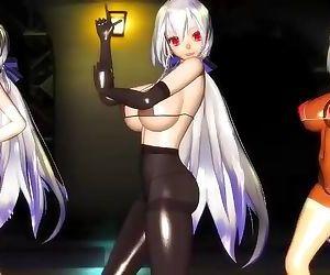 3D MMO Hentai Sex Dance