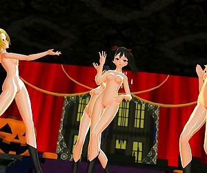 3D MMD Mad End Night -..