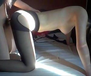 大奶+黑絲襪
