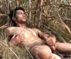 Asian Model Jerk off..