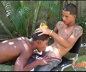 Exotic twink mates play..