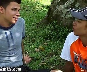 Two hot Latin twinks..