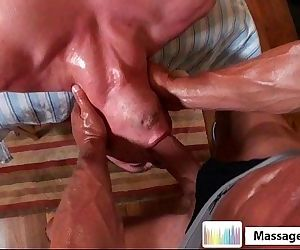 Massagecocks Oily..