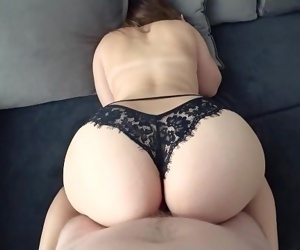 Young with big ass in..