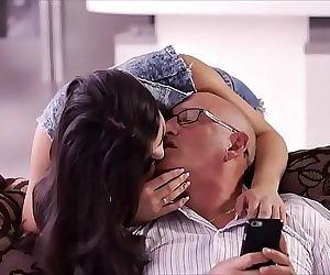 OLD4K. Rough sex for..