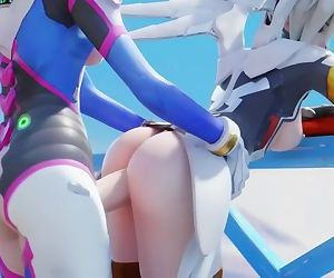 Mercy and D.va