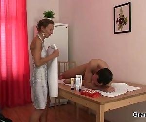 Massage leads to cock..