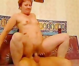Nasty Redheaded Granny