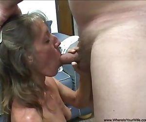 Abuela flaca da culo en..