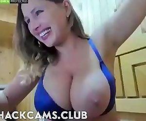 Busty Mom One Big Tit..