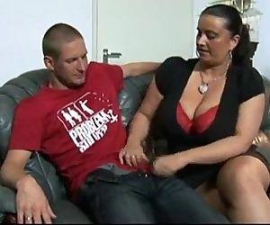 Big Tits Woman Is Burning