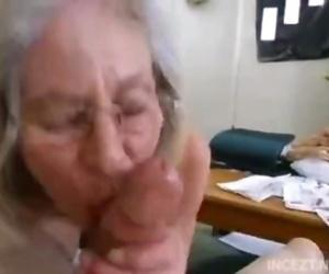 Granny is suck..