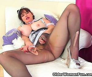 British milf Janey is a..