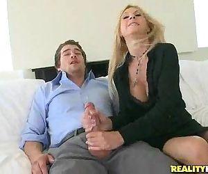 Brooke Tyler gets pussy..